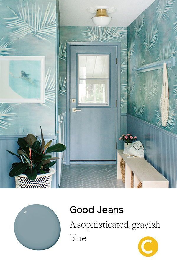 Inspiring Ideas For Entryway Decor Clare Best Blue Paint Colors White Paneling Entryway Decor