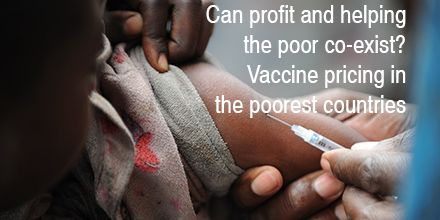 Can profit and helping the poor co-exist? My comment on vaccine pricing in the poorest countries http://pin.je/vaccines