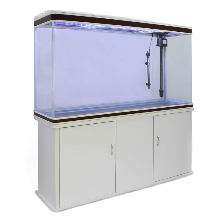With a pump, filter & light all built into the lid, this glass fish tank & cabinet are ready to create a tropical aquarium in your office, reception area or home.   Tel: 01347 878888