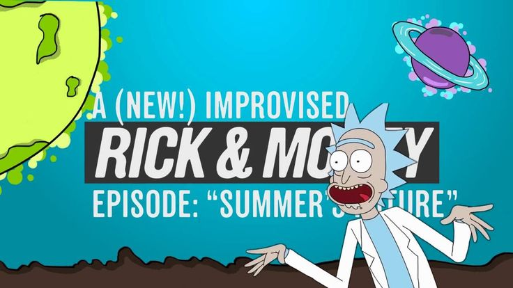 The Cast of Rick and Morty Improvise a Mini-Episode