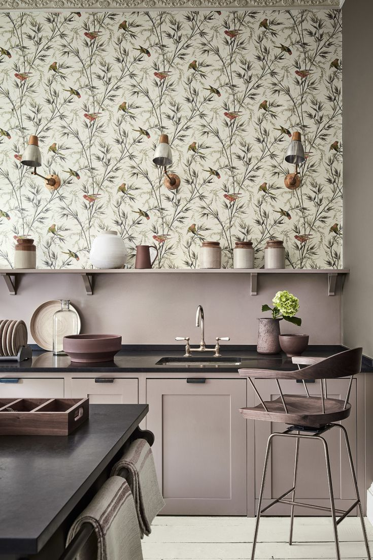 The New London Wallpaper IV Collection Is An Array Of Designs That Have Been Recoloured And