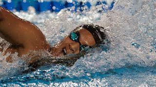 Blog Esportivo do Suíço: Ana Marcela Cunha leva prata no México