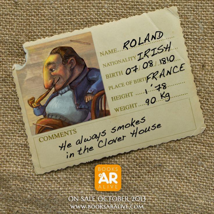 This is Roland...  #jackolantern  On Sale October 2013.  www.booksaralive.com