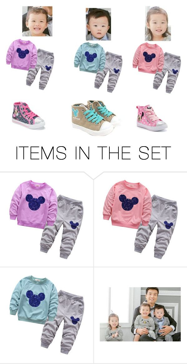 """""""Lee Dong gook kids"""" by lovesehunair on Polyvore featuring art"""