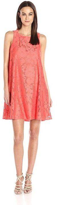 Donna Morgan D4923M Lace Jewel A-line Dress