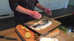 Wir verraten Ihnen, wie sie Fisch in der Salzkruste selbst zubereiten können. http://www.meine-familie-und-ich.de/kuechentipp-archiv