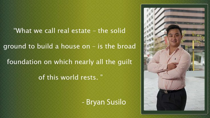 Bryan Susilo: Bryan Susilo - Give All The Real Estate Services