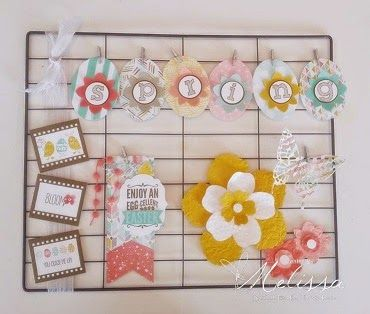 Stampin' Up! Hello Life - Spring/Easter by Melissa Davies @rubberfunatics @stampinup @projectlife #rubberfunatics #stampinup #projectlife
