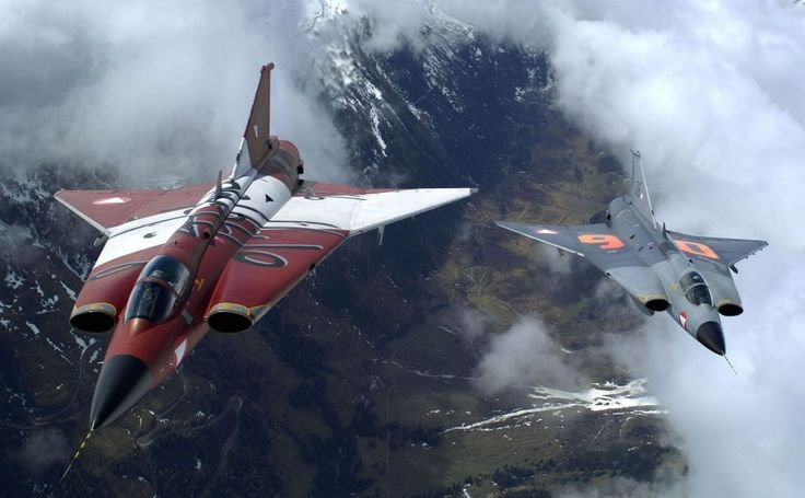 Saab 35 Draken HD Wallpaper