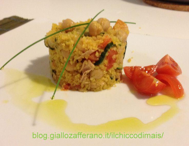 Couscous con tonno e zucchine
