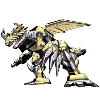 ZekeGreymon - (2010 Digimon Fusion Anime) Digivolution of MetalGreymon
