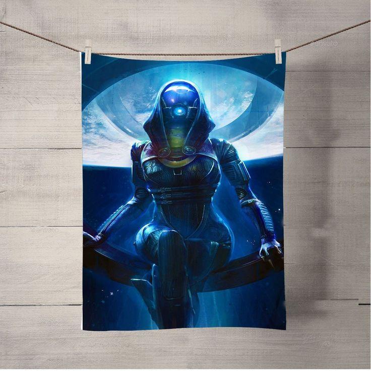 Mass Effect Tali'Zorah Bath Towel Beach Towels