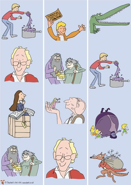 Roald Dahl border! Teacher's Pet - FREE Classroom Display Resources for Early Years (EYFS), Key Stage 1 (KS1) and Key Stage 2 (KS2)