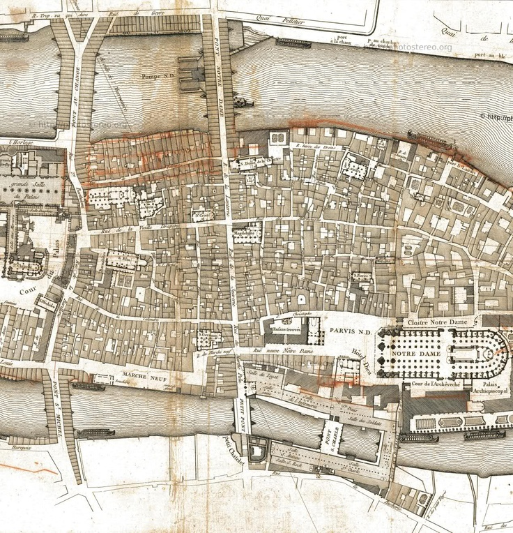 Medieval Paris Before Baron Haussmann's Transformation 2