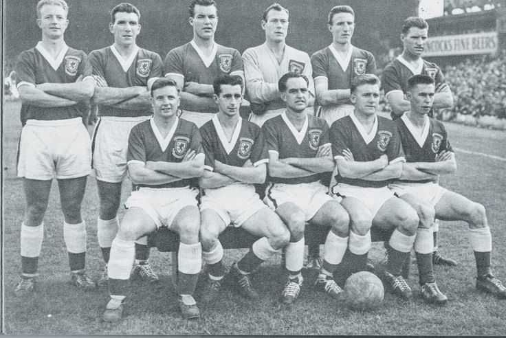 Wales team group in 1958.