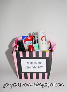 not just for bridesmaids, maybe a wedding shower gift.
