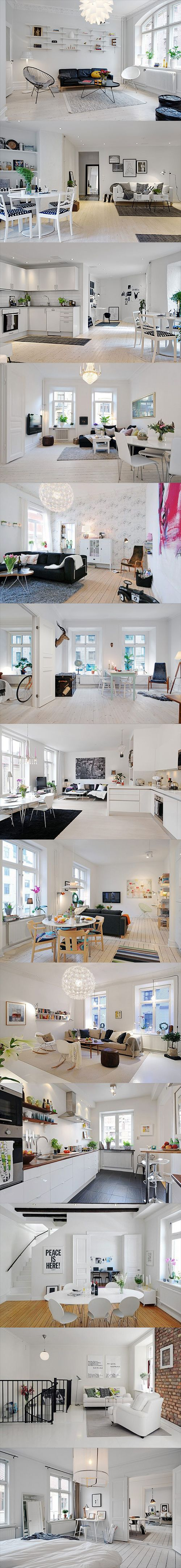 Beautiful & Stylish Scandinavian interior design inspiration 01: