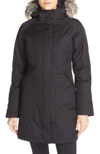 Main Image - The North Face 'Arctic' Down Parka with Removable Faux Fur Trim Hood $300