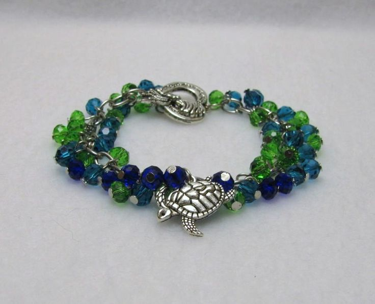 Oceans Glory - Jewelry creation by Linda Foust