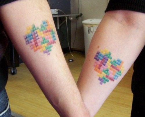 13 Geeky Tetris Tattoos
