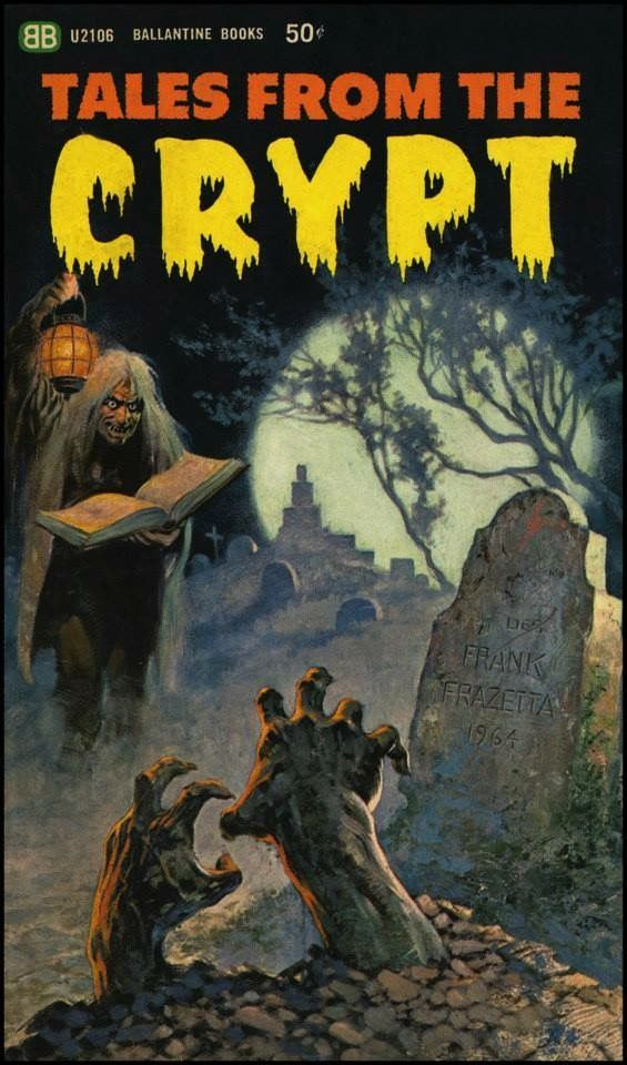 290 best my favorite book illustrations images on pinterest 1965 ballantine ec comics tales from the crypt paperback book fandeluxe Image collections