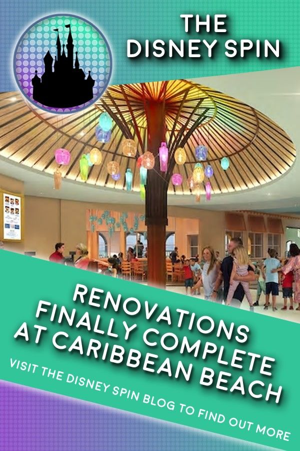 The Refurbishment At Disney S Caribbean Beach Resort Has Finally Been Completed We Take A Look
