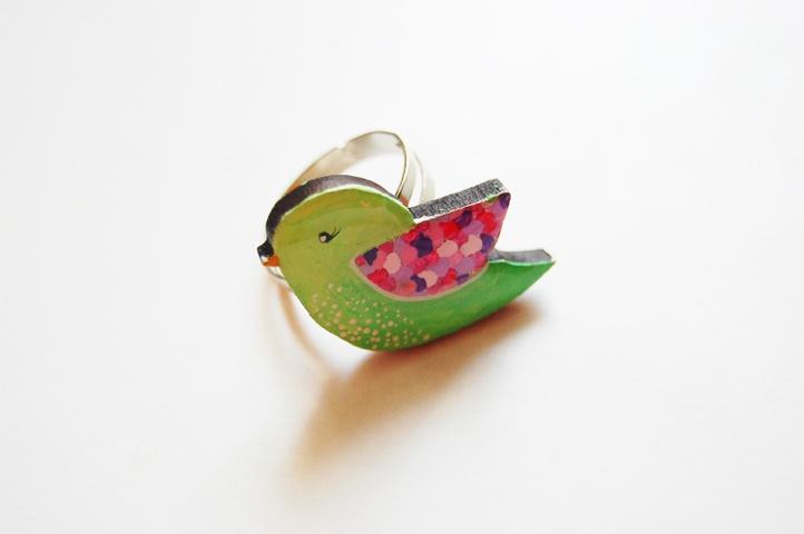 Inel Green Bird (25 LEI la Mimeme.breslo.ro)