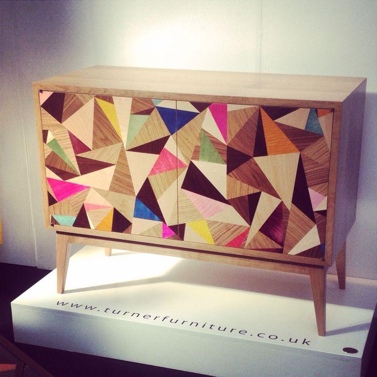 #londondesignfestival. Beautiful wood geometric * Deco Findings * The Inner Interiorista