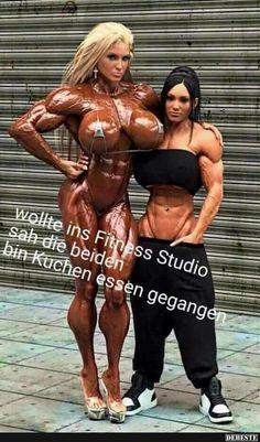 Wollte ins Fitness Studio sah die beiden bin Kuchen essen.. | Lustige Bilder, Sprüche, Witze, echt lustig