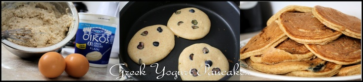Greek Yogurt Pancakes: Adventures With Foodie Felisha: