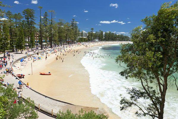 Spend a day on Manly Beach! A short 30 minute ferry ride from Circular Quay. #wanderlust #bucketlist #sydney