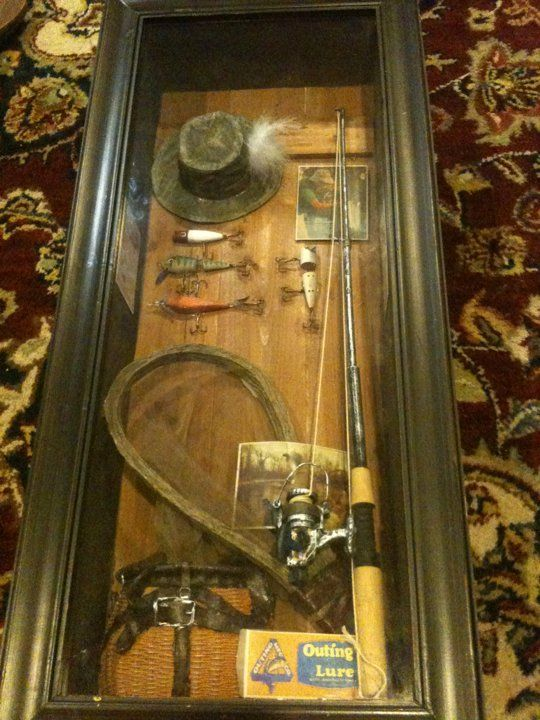 1000 Images About Hunting And Fishing Shadow Box Ideas On