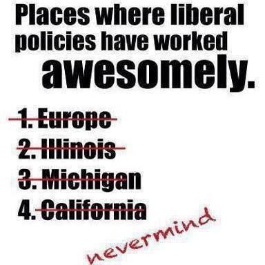 Liberal Policies are Epic Fails!