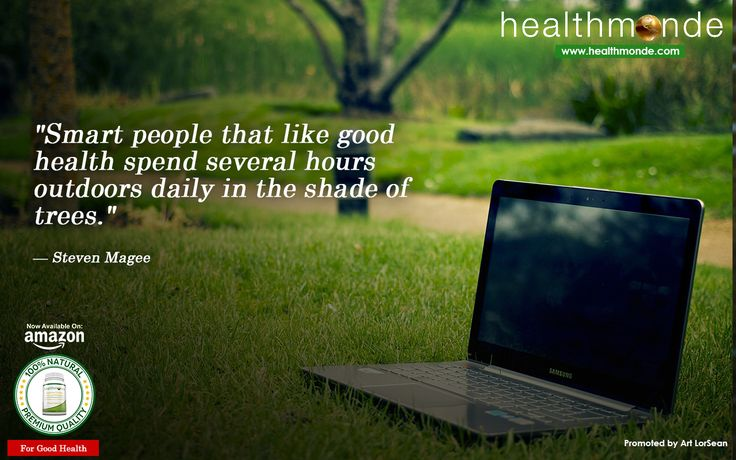 "https://www.healthmonde.com/  ""Smart people that like good health spend several hours outdoors daily in the shade of trees.""    AMAZON : https://www.healthmonde.com/"