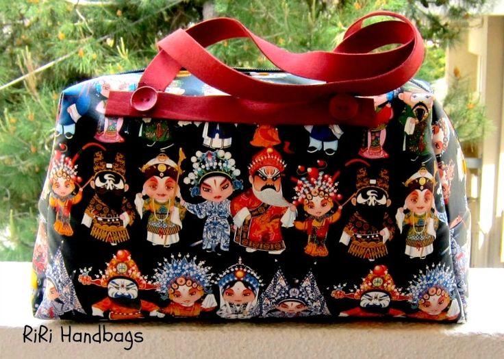 Little Black barrel bag - RiRi Yfasma (RiRiYfasma.gr)