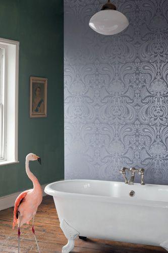 paisley wallpaper / barokk tapéta