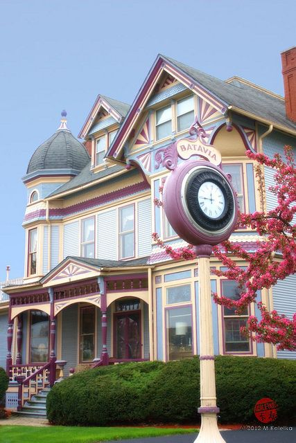 Gammon House, Batavia IL, our Victorian painted lady.