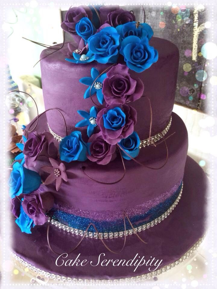 My sisters wedding cake