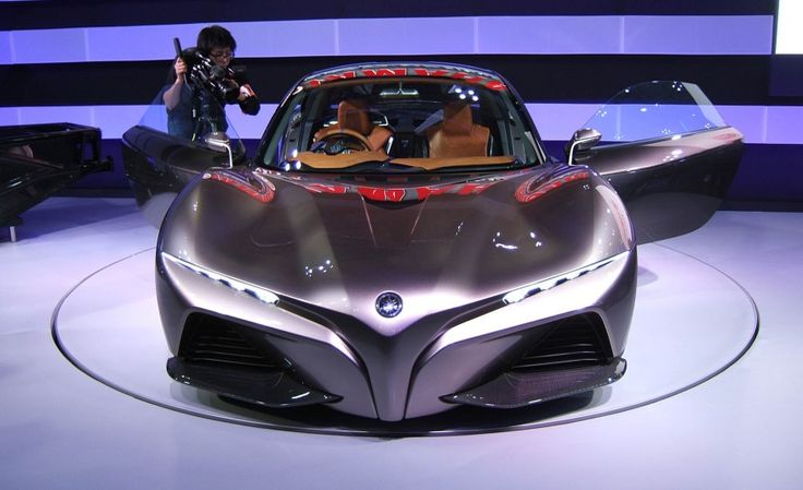 Yamaha Sports Ride Concept: A Sports Car with Motorcycle Soul - Photo Gallery of Auto Show from Car and Driver - Car Images - Car and Driver