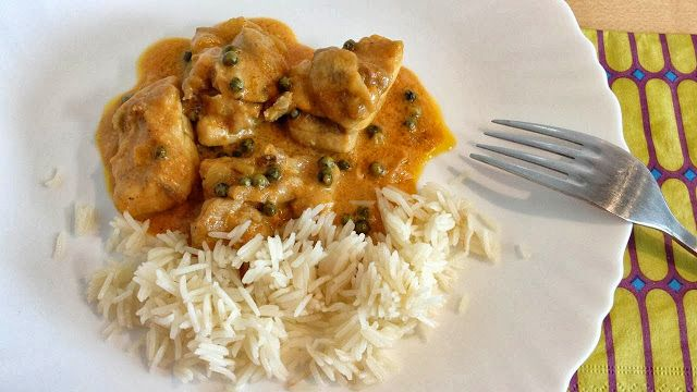Muy Locos Por La Cocina: Pollo al Curry de Pimienta Verde (Murgh Mirchiwala)