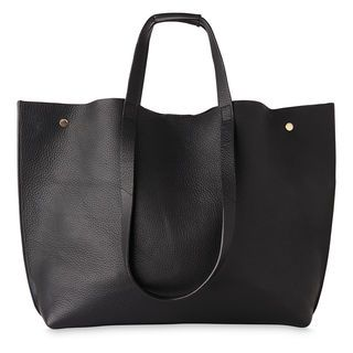 Hamil Unlined Stud Tote, in Black on Whistles