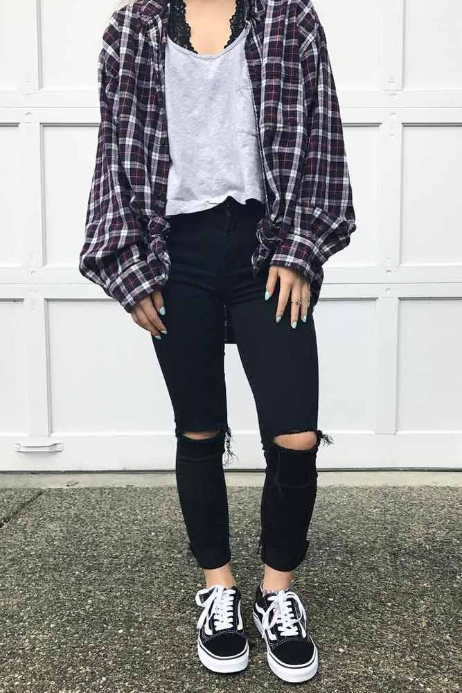 27 Flannel Fall Outfits: Style Tips How to Wear Your Favorite Shirt