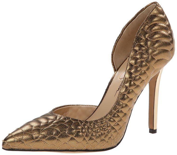 Jessica Simpson Women's Caldas D'Orsay Pump Gunmetal Size 8.0 Njew