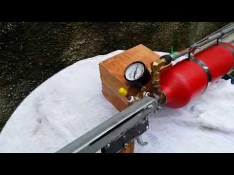 Airgun Caseira !!! (homemade airgun) - YouTube