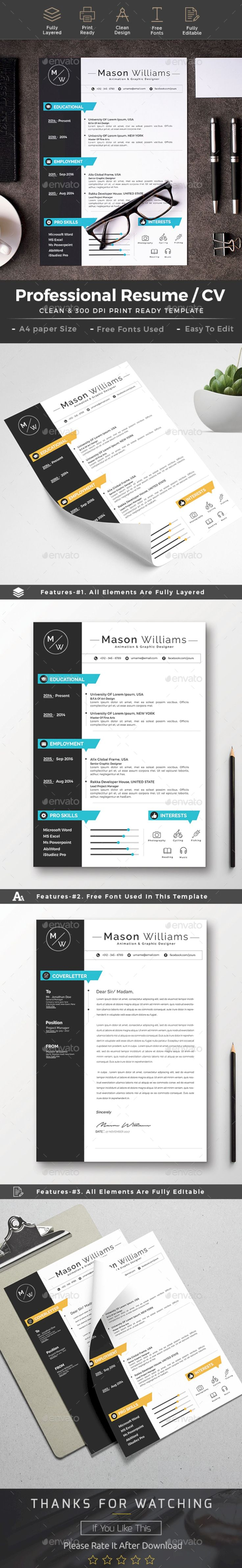 61 Cool Resume Design Ideas https://www.designlisticle.com/resume-ideas/