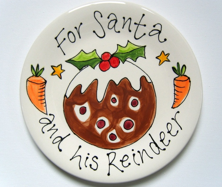 Bespoke :: Crockery :: Christmas Personalised Plates -