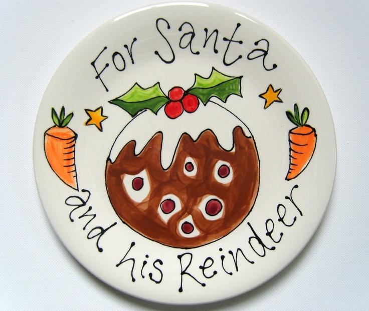 Bespoke :: Crockery :: Christmas Personalised Plates -