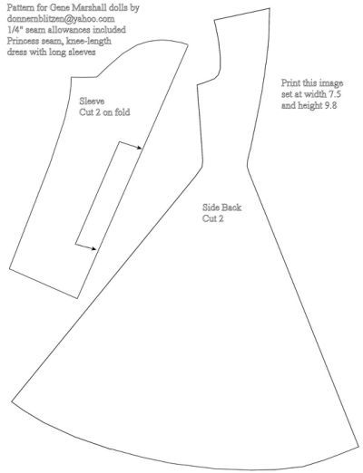 Free Printable Barbie Doll Clothes