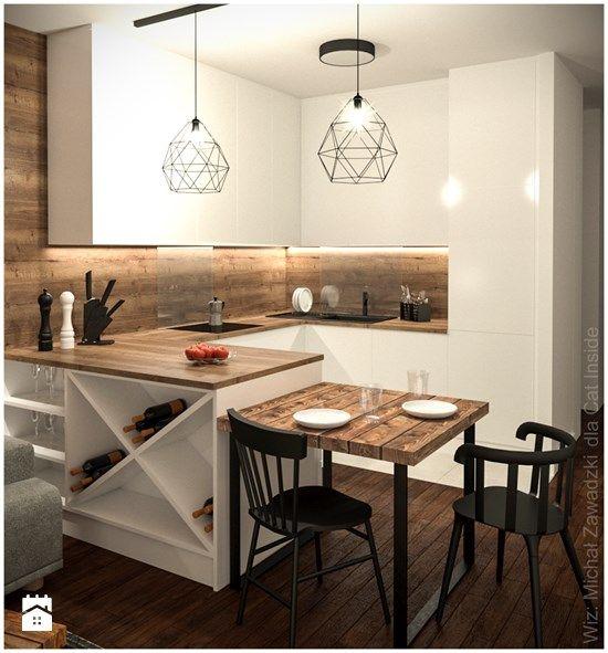 Kuchnia - zdjęcie od Cat Inside Projektowanie Wnętrz