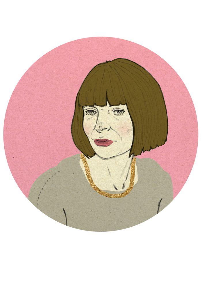 Anne Wintour by Magdalena Pankiewicz